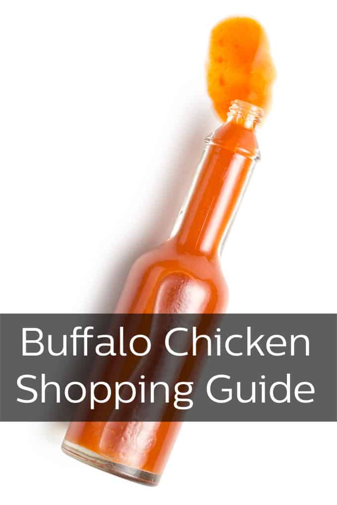Everything you need to make and serve delicious buffalo chicken dishes.