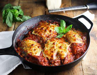 Chicken Parmesan Skillet