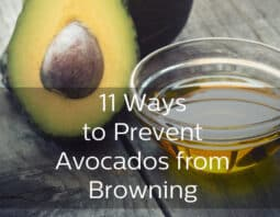 Stop Avocados from Browning