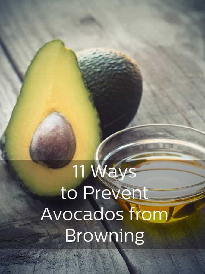 Once cut, avocado is exposed to oxygen which makes it turn brown. Here are 11 ways to stop the browning from even starting.