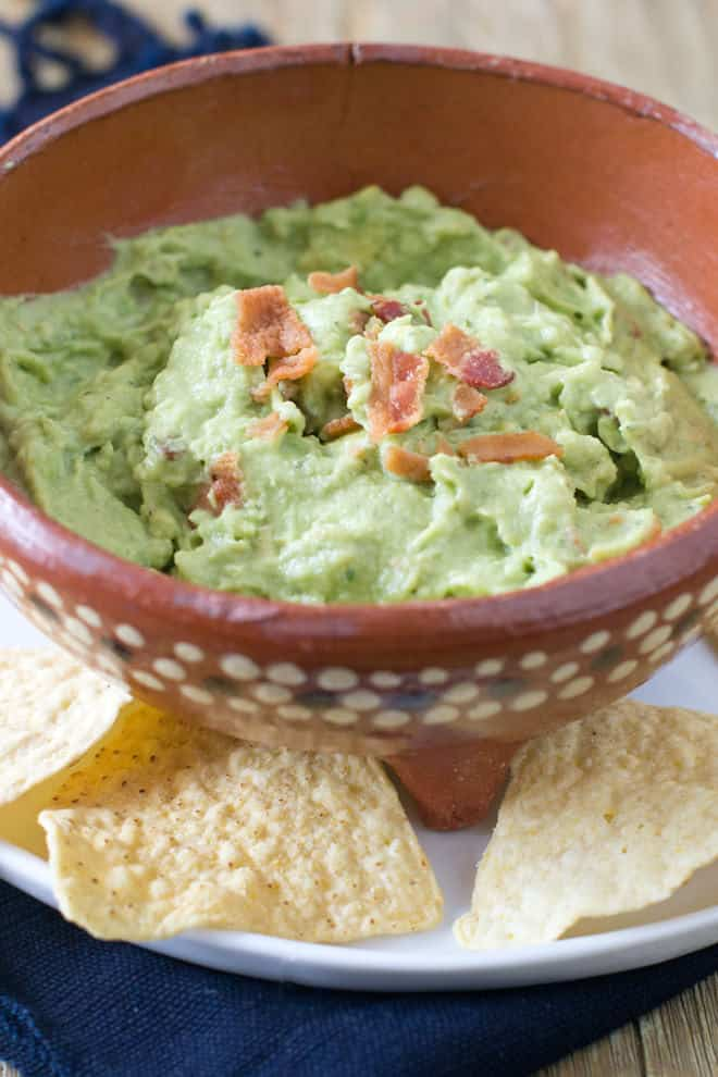Who loves ranch dressing? Well then, try adding it to your next batch of guacamole. It's pretty cool.