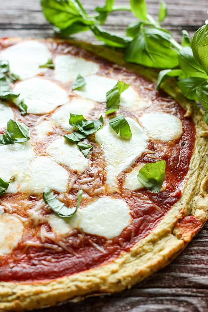 Learn how to make a delicious gluten-free pizza crust using riced cauliflower.