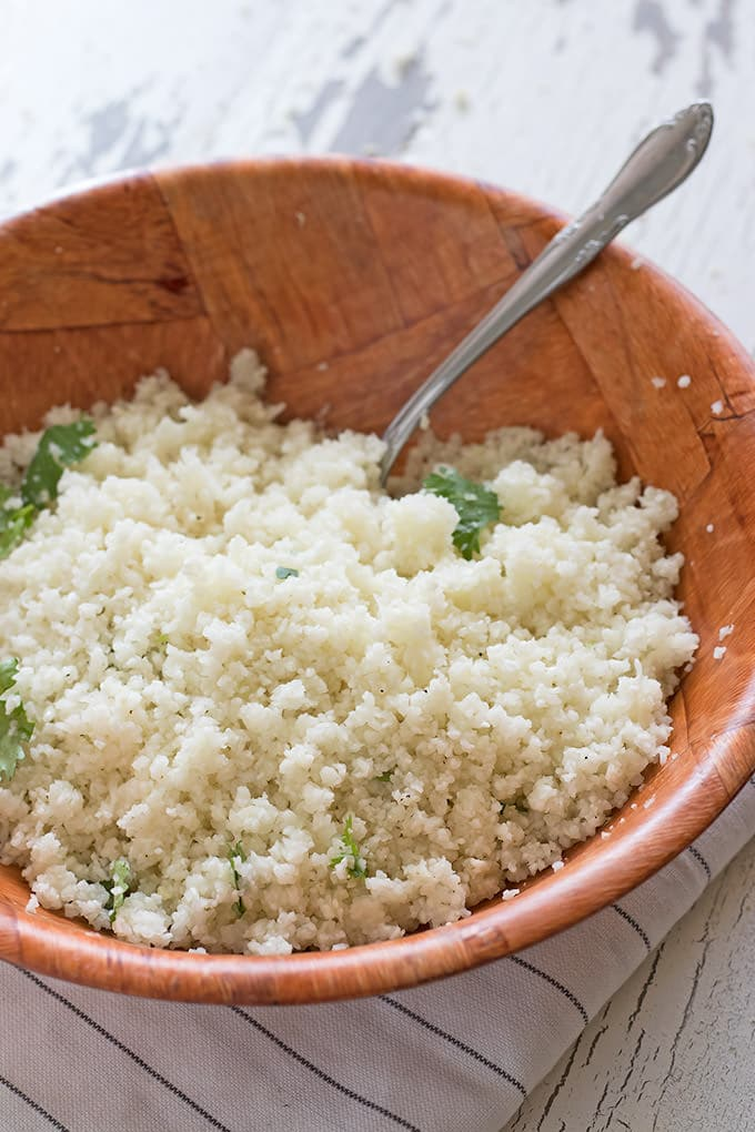 Cauliflower rice is a super star trend that we totally love so we're doing a big series all about it. Follow along with us as we dive into this delicious food.
