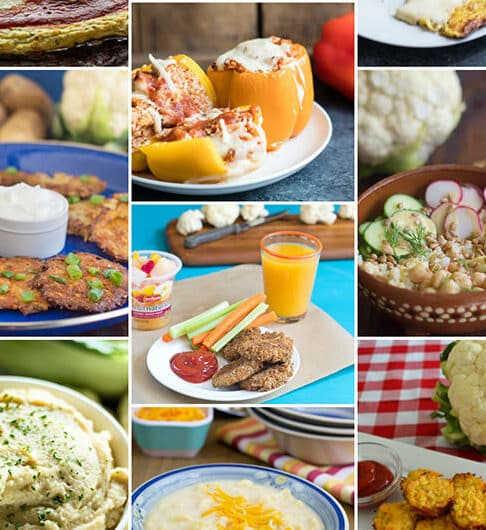 Top 10 Ways to use Cauliflower Rice