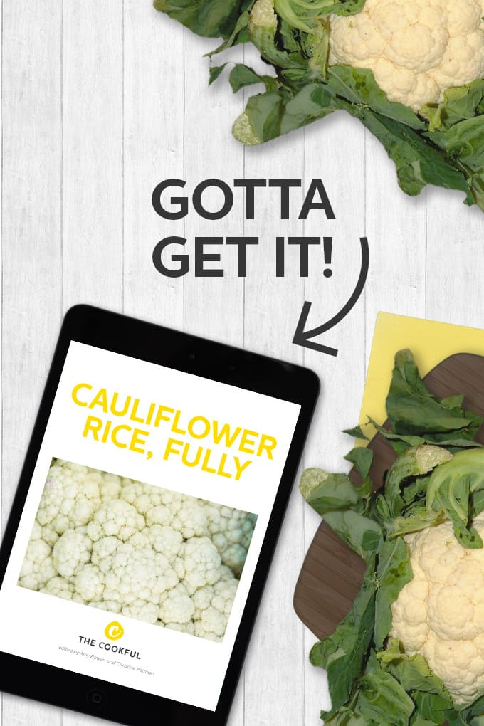 Our Cauliflower Rice Ebook is the ultimate source for making the most out of cauliflower rice. It's packed full of recipes and so many ideas. You're going to love it!