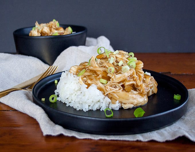 It's takeout...only better. Slow Cooker Teriyaki Chicken can be started in the morning and is ready when you walk in the door at dinnertime.