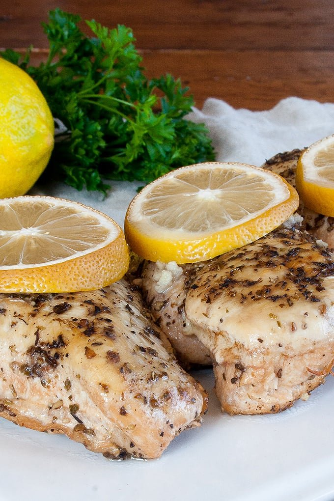 Learn how to make the classic lemon chicken in the slow cooker. It's never been easier, or tastier!
