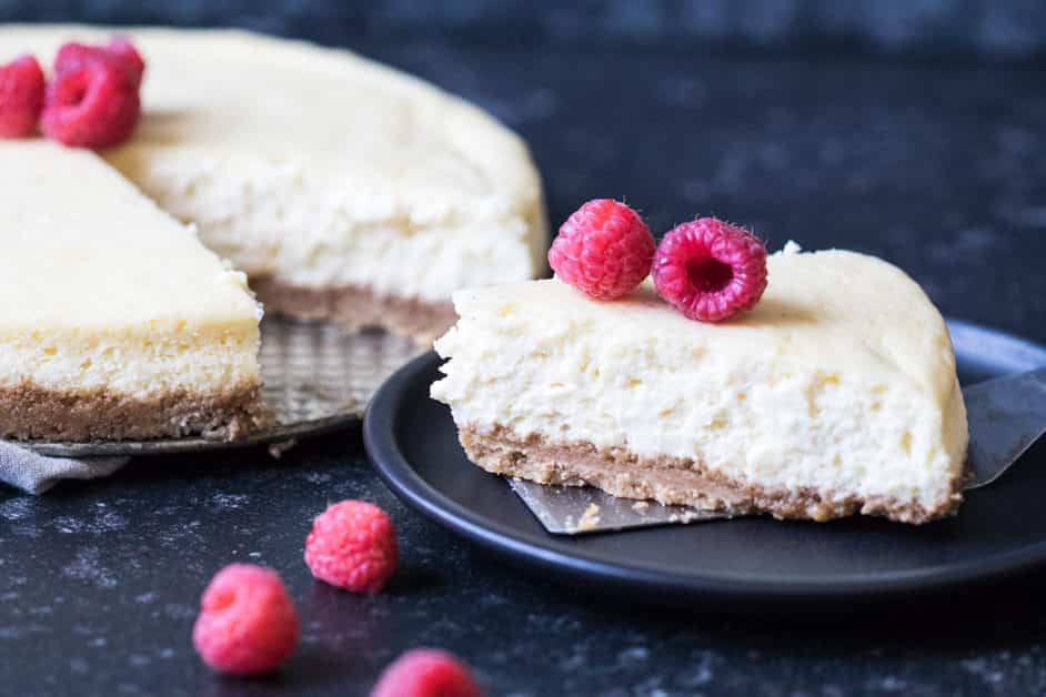 Skinny Classic Cheesecake