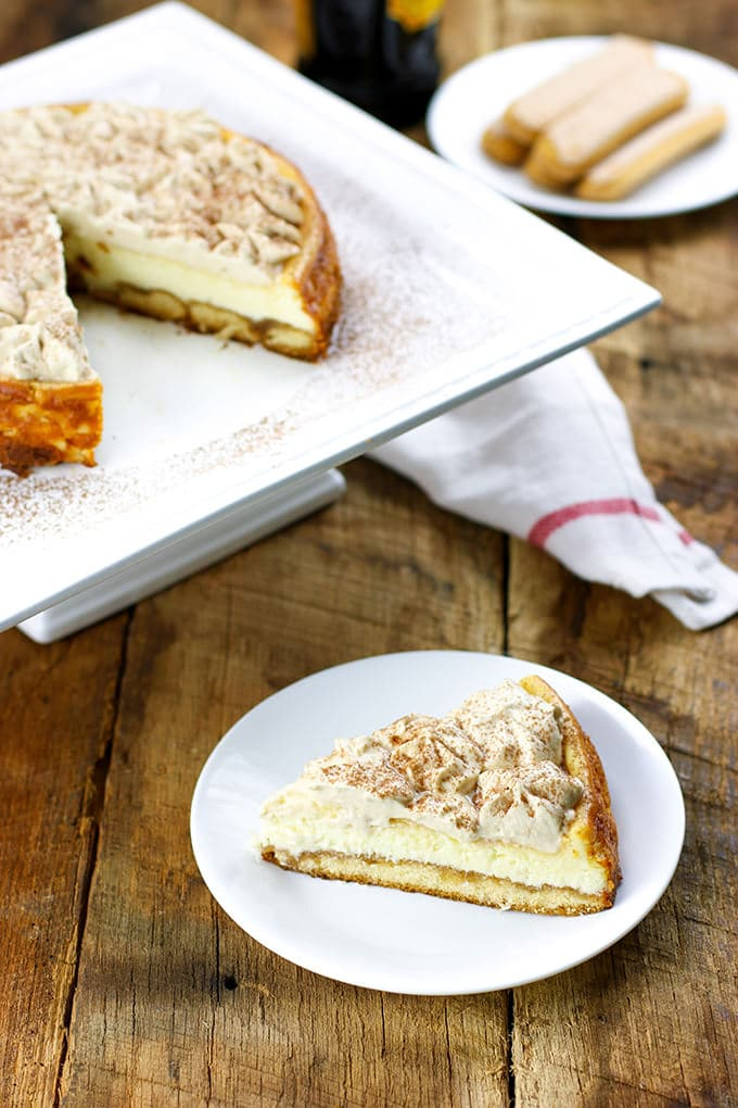 Who knew Tiramisu Cheesecake could be even better than the Italian restaurant classic?