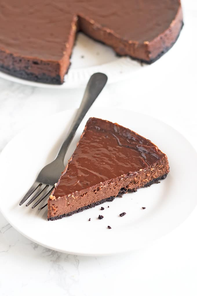 Chocoholics rejoice! We've got the best Chocolate Cheesecake recipe you'll ever find.