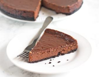 Best Chocolate Cheesecake