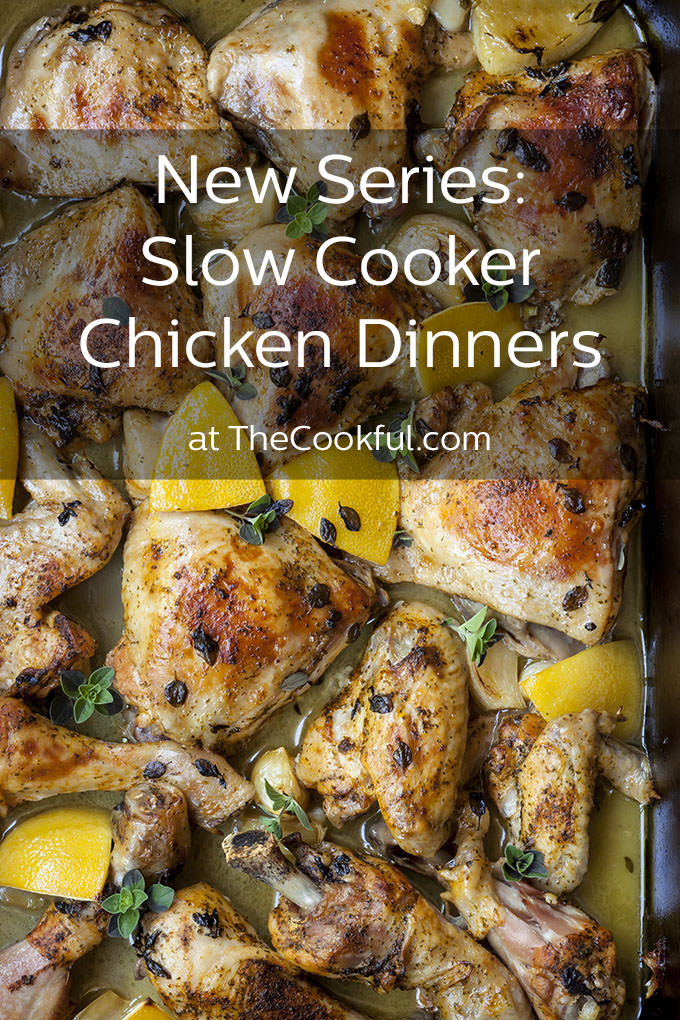 We're jumping into autumn with delicious classic chicken recipes reinvented for the slow cooker. There are so many amazing dinners coming your way!