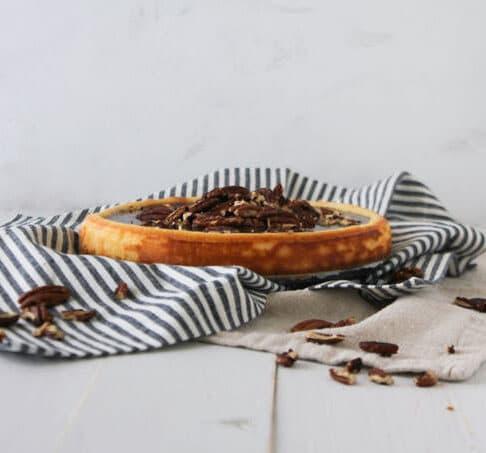 Easy Pecan Cheesecake