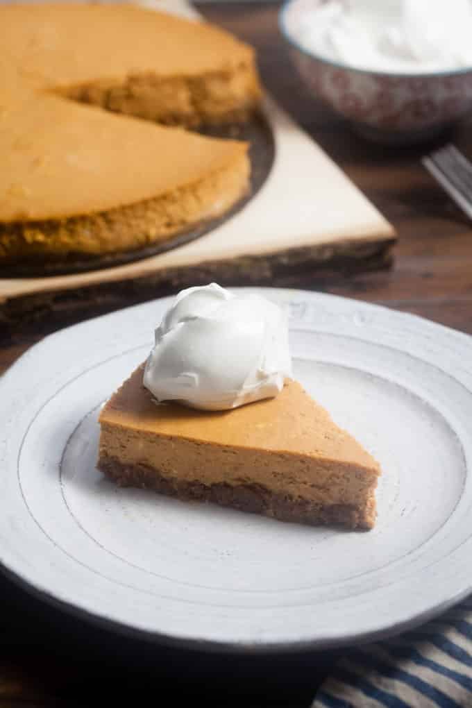 The Ultimate Pumpkin Cheesecake