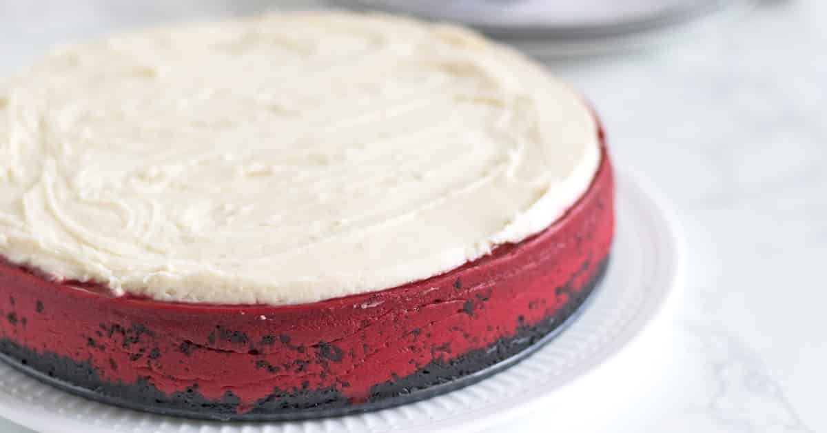 Red Velvet Cheesecake The Cookful