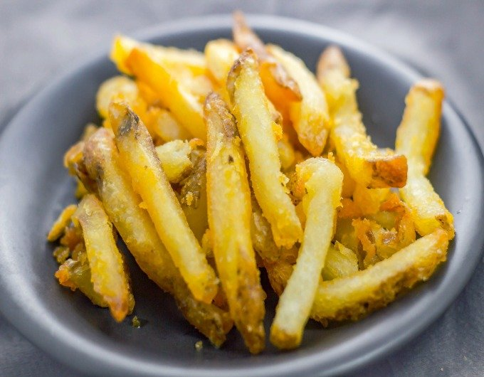Deep Fried French Fries