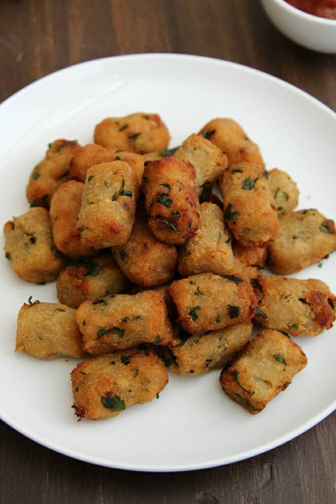 Who knew you could make your own tater tots? We did and we're showing you how. You won't believe how good they taste.