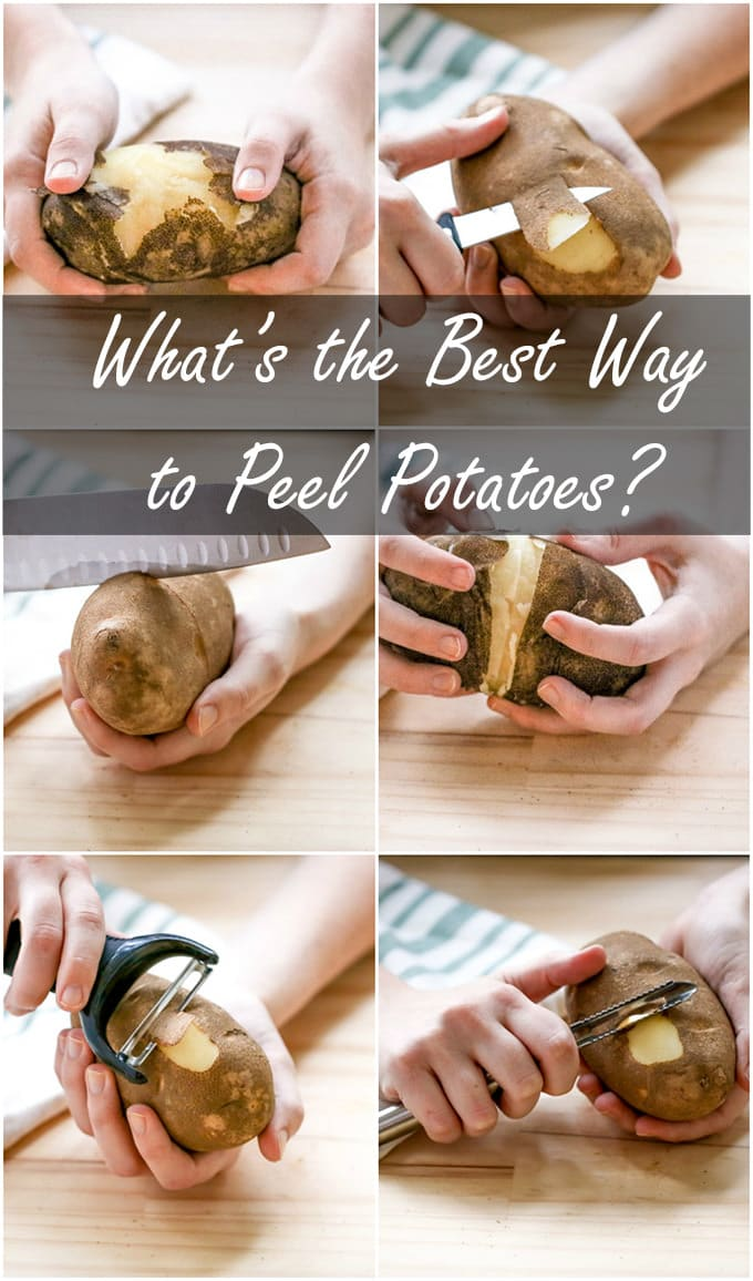 Finding the easiest way to peel a potato can be daunting but it doesn't have to be. We're breaking down the best ways to peel a potato.