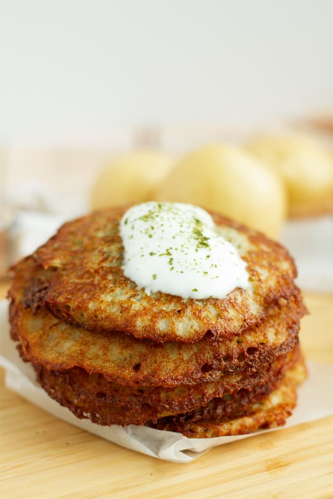 Potato pancakes are an Eastern European staple that are a comfort food in North America as well. Learn how to make them here.