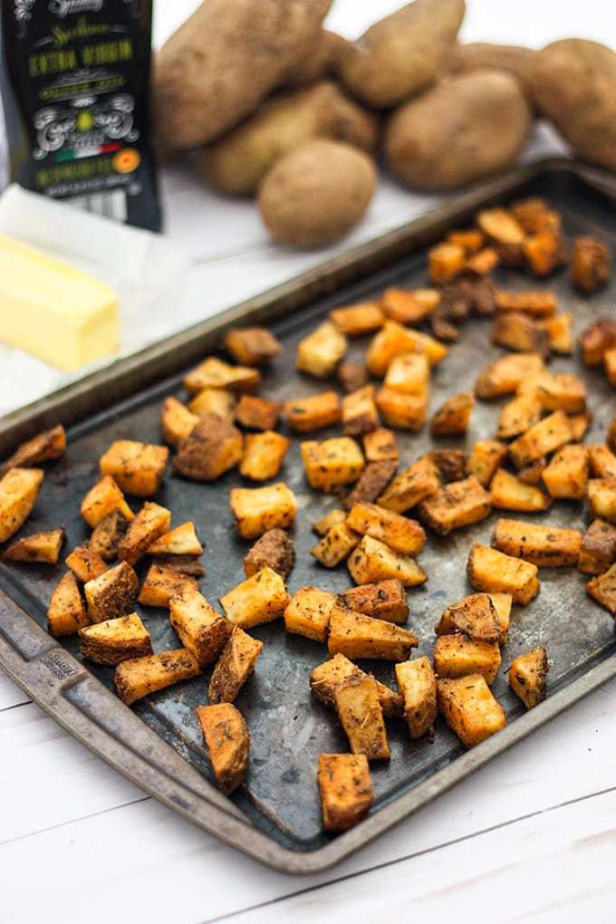 Oven roasted potatoes are everyone's favorite. Learn how to make them better than ever with our method and tips.