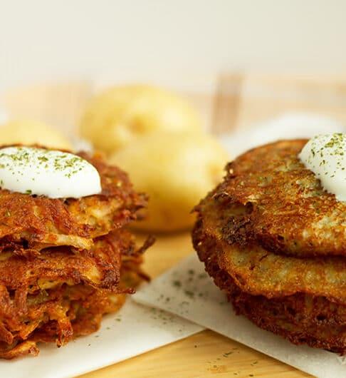 Potato Latkes vs. Potato Pancakes