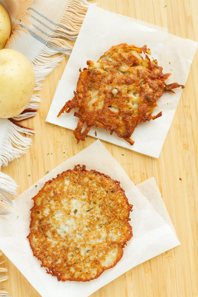 We're sharing the differences between potato pancakes and potato latkes so you can choose the right recipe.
