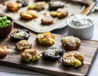 Ultimate Smashed Potatoes