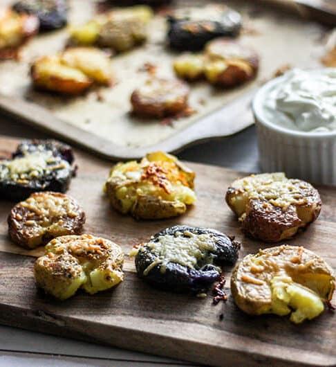 Ultimate Smashed Potatoes