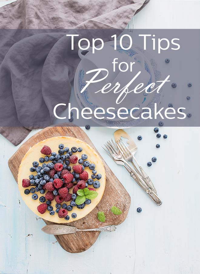 Goodbye cracks, hello perfection. We're helping you make the perfect cheesecake every time.