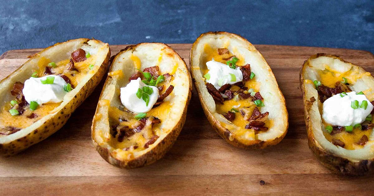 Best Baked Potato Skins The Cookful