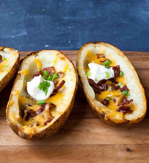 Best Baked Potato Skins