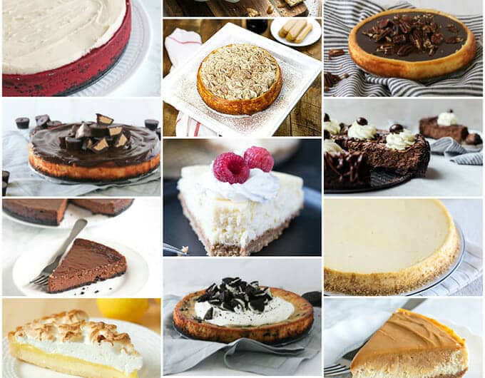 17 Delicious cheesecake recipes