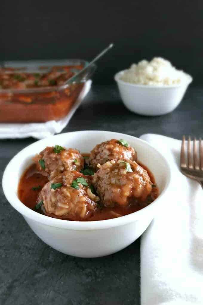 Porcupine meatballs are a family-friendly favorite that combines your protein and starch in one easy dish.