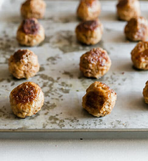 How to Bake Meatballs