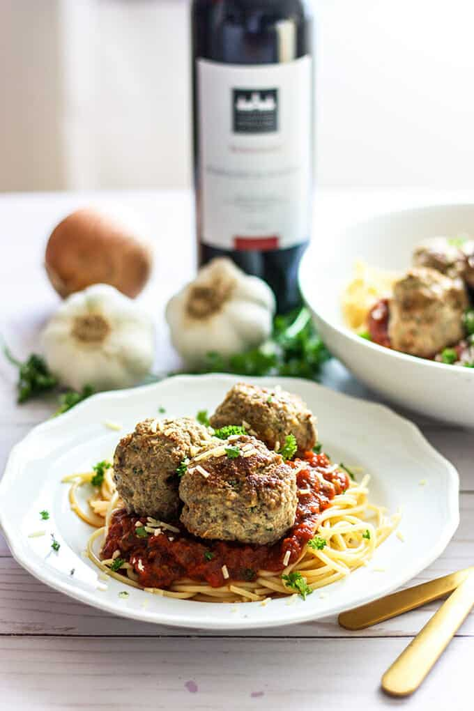 Classic Italian-style meatballs are the perfect hearty and comforting addition to a steaming bowl of spaghetti and marinara.