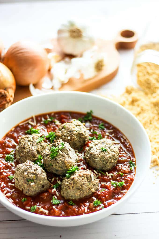 Our secret ingredient makes these gluten-free meatballs the best you'll ever make. Give them a try and watch your family gobble them up.