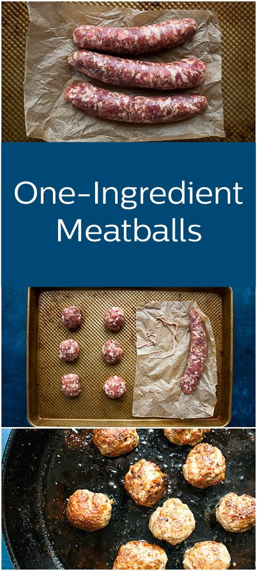 Our simple kitchen hack means your family can have homemade meatballs no matter how busy your day is.