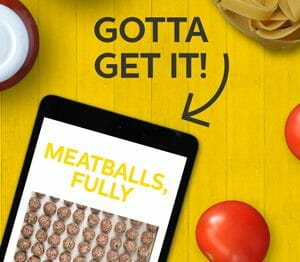 Our Meatball Ebook is Out!