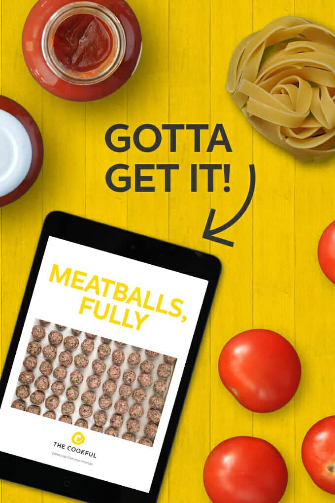 Find out everything you need to know to make tasty meatballs, with recipes and ideas galore, in this gorgeous (and free!) ebook just for you.