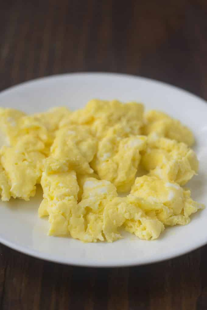 Microwaved Scrambled Eggs The Cookful