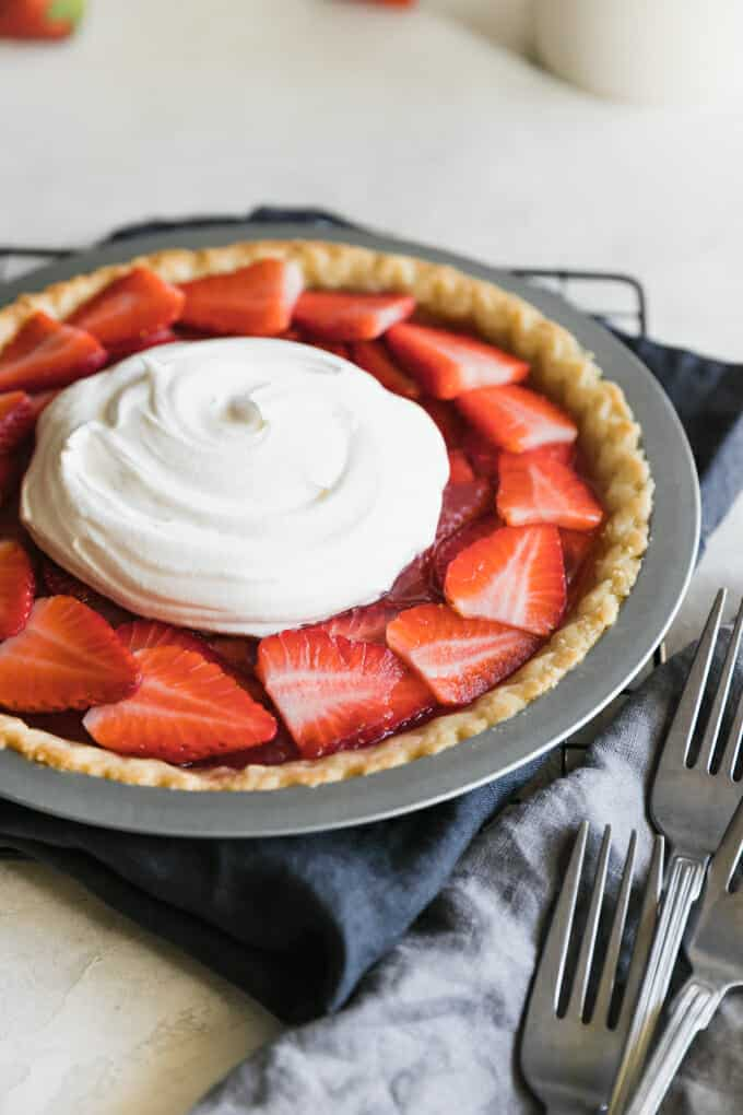 Everyone declares it's the best Strawberry Pie ever and we know your family will agree. Just don't tell anyone how easy it is to make!