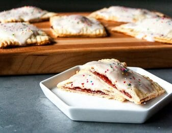 Homemade Strawberry Pop Tarts