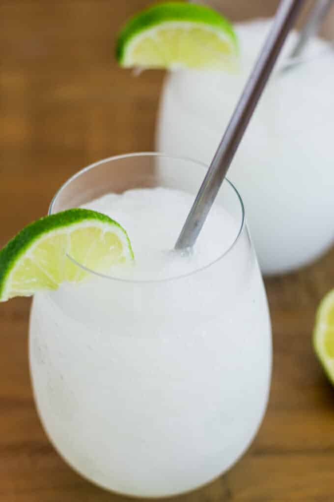 We're showing you just how easy it is to make a classic frozen daiquiri at home. What'cha waiting for? It'll be ready in no time.