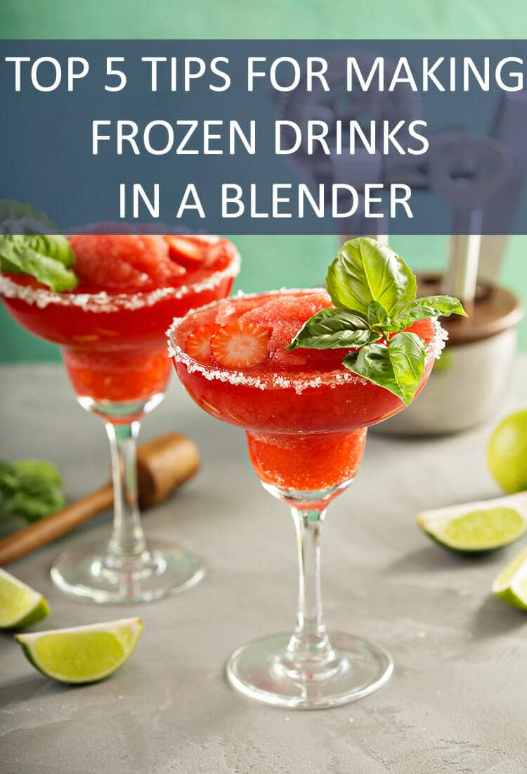 Making the perfect frozen drink requires an important kitchen appliance - a good blender - and some handy tips. You'll be blending drinks like a pro in no time.