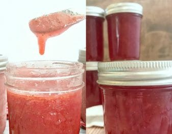 Strawberry Jam and Freezer Jam Comparison