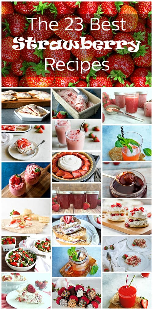 What better way to celebrate summer than with luscious strawberries? From drinks to dessert, we've got you covered with the very best strawberry recipes you can find. You'll want to try them all.