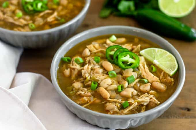 Instant Pot White Chicken Chili