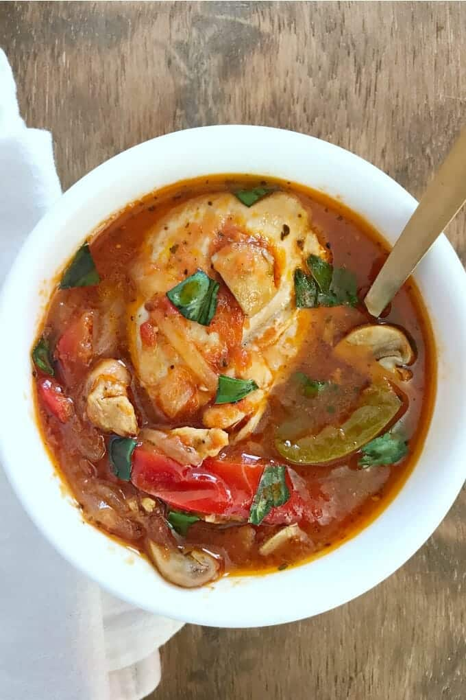 Chicken Cacciatore is one of those iconic dishes that has to simmer for hours to really infuse those flavors well. No more! The Instant Pot melds those flavors together in no time. You gotta have this one in your meal rotation.