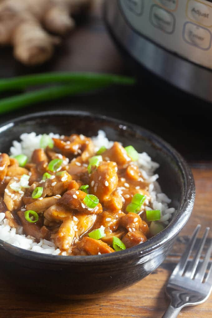 Hold up! There's no way you can make Honey Bourbon Chicken like at the mall food court at home, is there? You bet! Thanks to the Instant Pot. Done.
