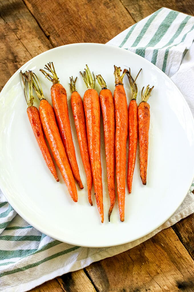 You won't believe how the simple addition of brown sugar to simple carrots makes them taste so amazing. You're sure to add Brown Sugar Glazed Carrots to your weekly meal rotation.